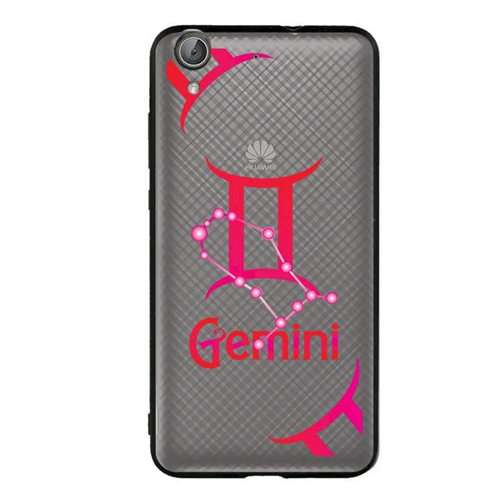 Ốp lưng Cho Điện Thoại Huawei Y6 II viền TPU cung Song Tử - Gemini