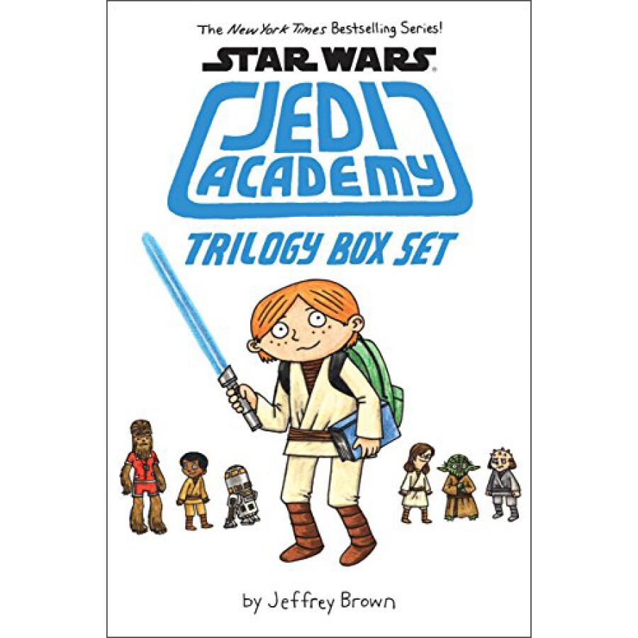 Star Wars: Jedi Academy Trilogy Box Set - 1240718 , 8614228656073 , 62_5280455 , 643000 , Star-Wars-Jedi-Academy-Trilogy-Box-Set-62_5280455 , tiki.vn , Star Wars: Jedi Academy Trilogy Box Set