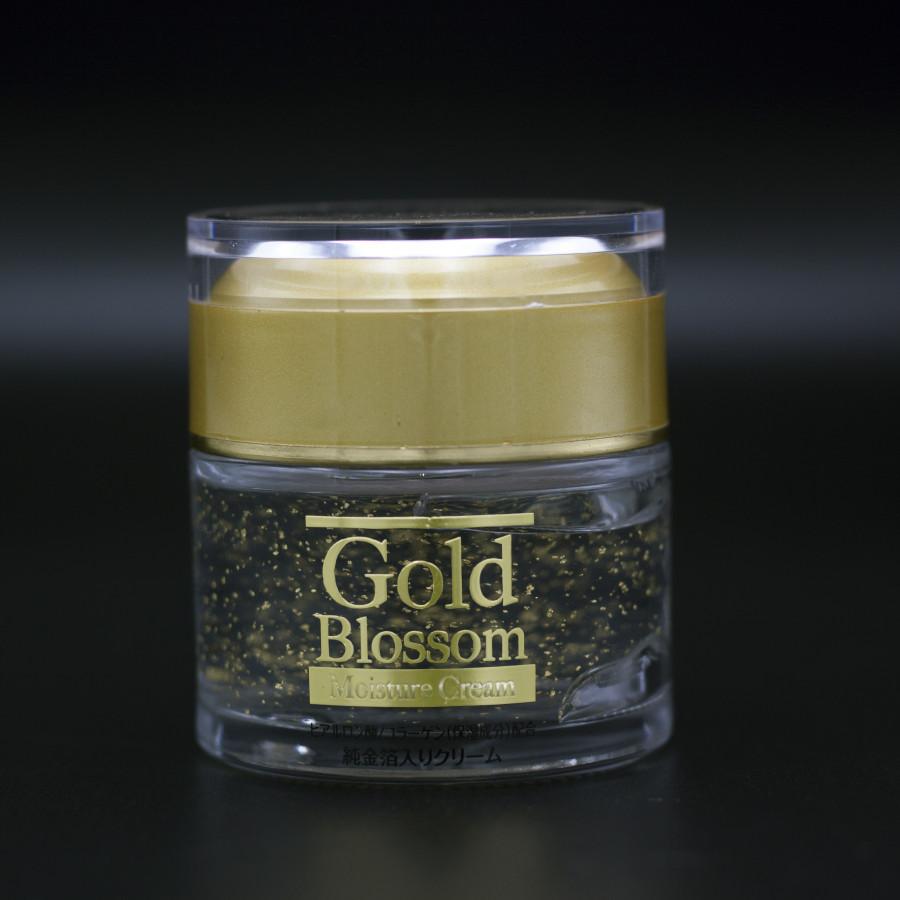 Kem dưỡng trắng da mặt và chống lão hóa tinh chất vàng 24K hàng nội địa Nhật Bản Gold Blossom Moisture (50ml) – Hàng...