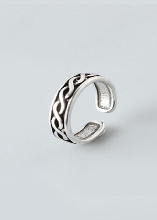 NH157 Nhẫn bạc Thái 925 Dasavoong xoắn