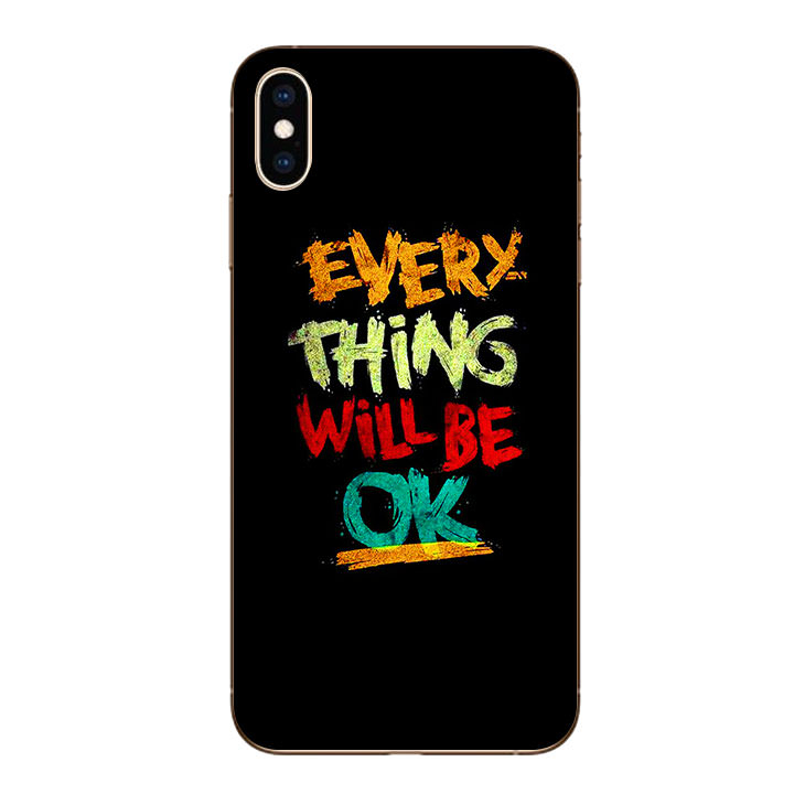 Ốp lưng dẻo cho Iphone XS Max - Everything Will Be Ok - 1246503 , 5394919819569 , 62_5503979 , 200000 , Op-lung-deo-cho-Iphone-XS-Max-Everything-Will-Be-Ok-62_5503979 , tiki.vn , Ốp lưng dẻo cho Iphone XS Max - Everything Will Be Ok