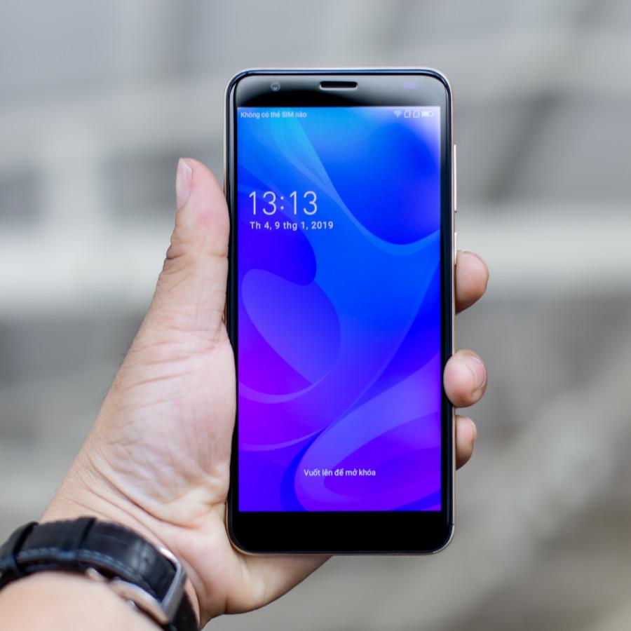 Điện Thoại|Smartphone Cấu Hình Cao|Chơi Game Tốt|Coolpad N3C 1803(Grey)|Màn Hình HD+ IPS|Chip 4 Nhân - Tặng Kèm Ốp Lưng +...