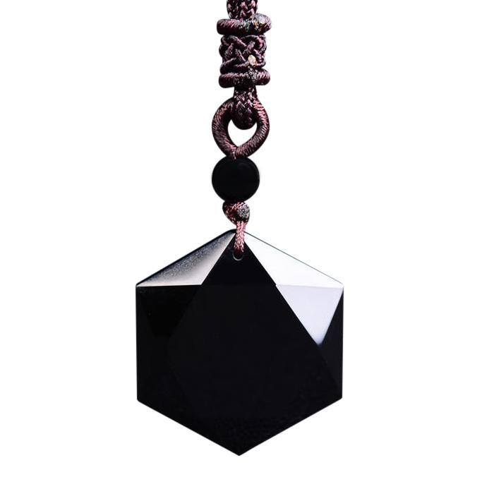 Dây Chuyền Vòng Đeo May Mắn Hình Lục Giác Vòng Đeo Đá Hexagram Obsidian - 780993 , 1127506194947 , 62_11593166 , 198000 , Day-Chuyen-Vong-Deo-May-Man-Hinh-Luc-Giac-Vong-Deo-Da-Hexagram-Obsidian-62_11593166 , tiki.vn , Dây Chuyền Vòng Đeo May Mắn Hình Lục Giác Vòng Đeo Đá Hexagram Obsidian