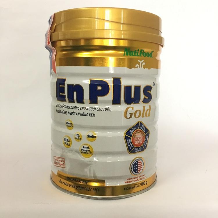 Sữa bổ sung dinh dưỡng hàng ngày cho người trưởng thành Nuti Enplus Gold 900 Gr