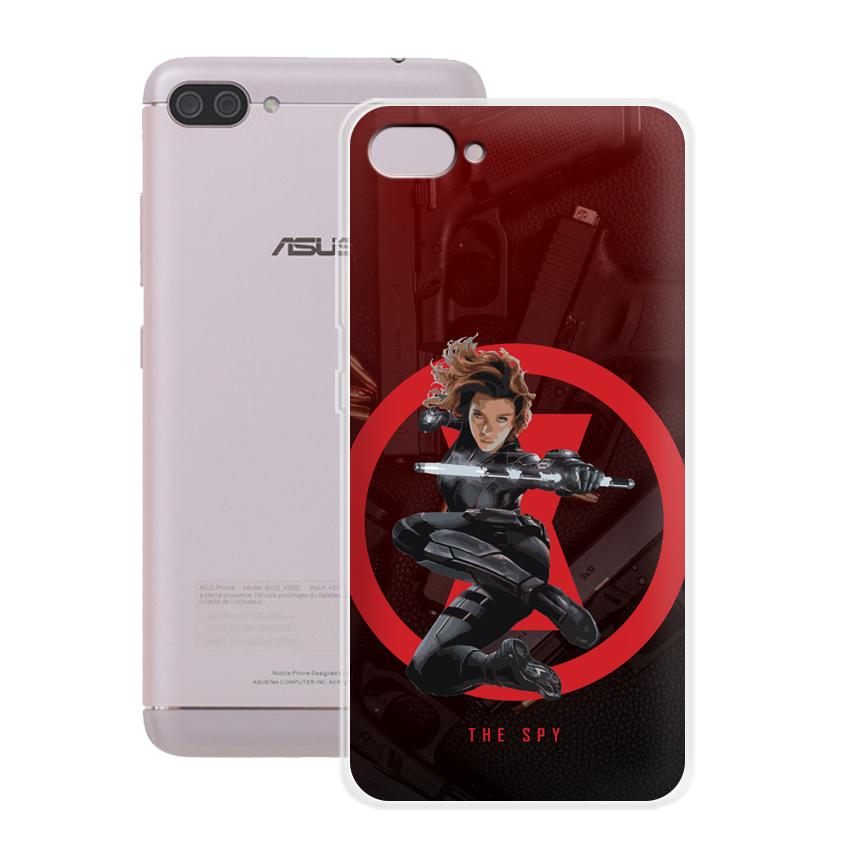 Ốp lưng cho điện thoại Asus Zenfone 4 MAX Pro 5.5 inch - 01008 0538 SPY01 - Silicone dẻo - Hàng Chính Hãng