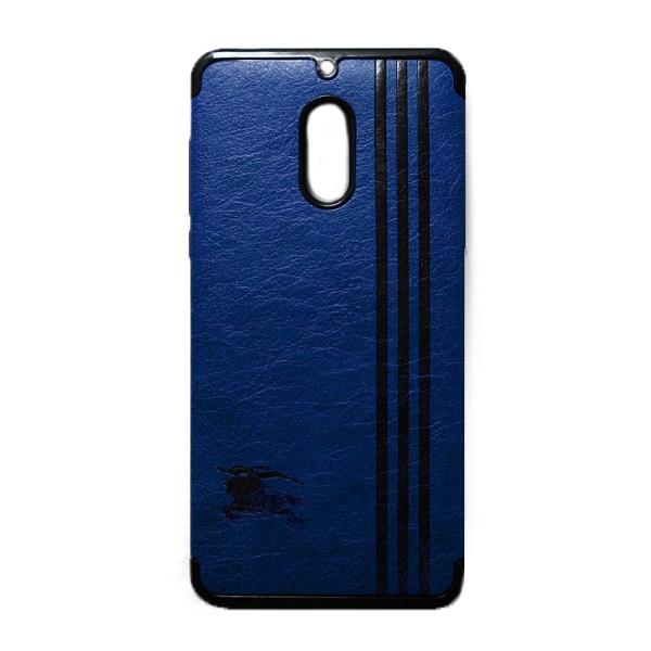 Ốp Lưng Da Kẻ Sọc Dành Cho Điện Thoại Nokia 6
