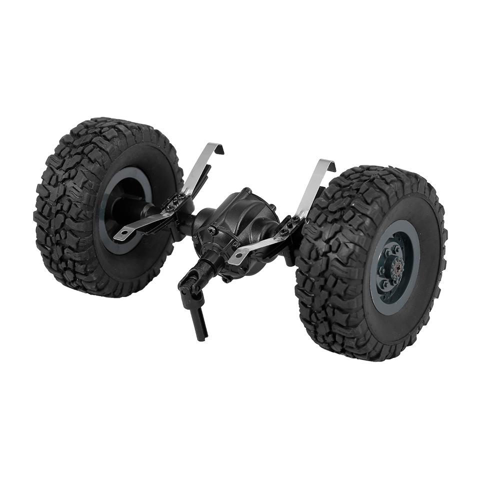 Trục Cầu Lốp Bánh Xe Sau JJR/C Cho Xe Tải Quân Sự Q61 1/16 RC