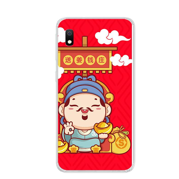Ốp lưng dẻo cho điện thoại Samsung Galaxy A10 - 0090 THANTAI08 - Hàng Chính Hãng