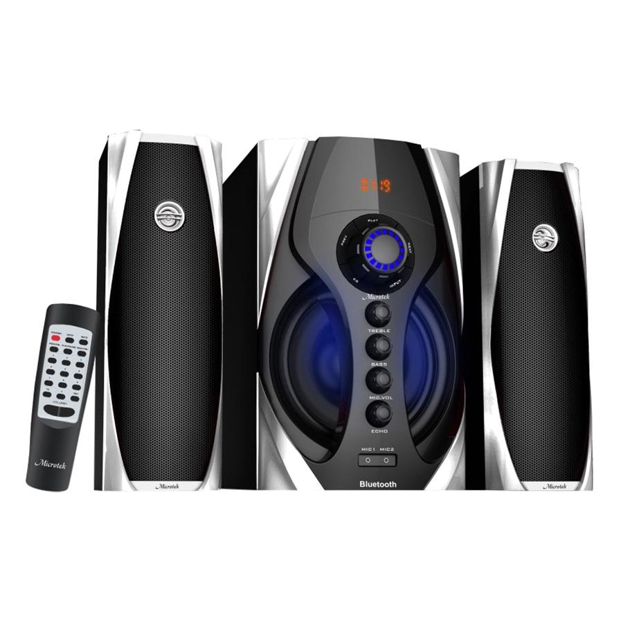 Loa Vi Tính Bluetooth Microtek MT668BT / 2.1 (Đen) - Hàng Chính Hãng - 974314 , 3329508572312 , 62_2411337 , 1590000 , Loa-Vi-Tinh-Bluetooth-Microtek-MT668BT--2.1-Den-Hang-Chinh-Hang-62_2411337 , tiki.vn , Loa Vi Tính Bluetooth Microtek MT668BT / 2.1 (Đen) - Hàng Chính Hãng