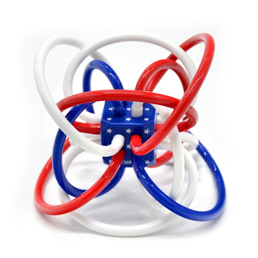 Lục Lạc Vòng Nhựa Dẻo Cho Bé Đang Mọc Răng Manhattan Toy