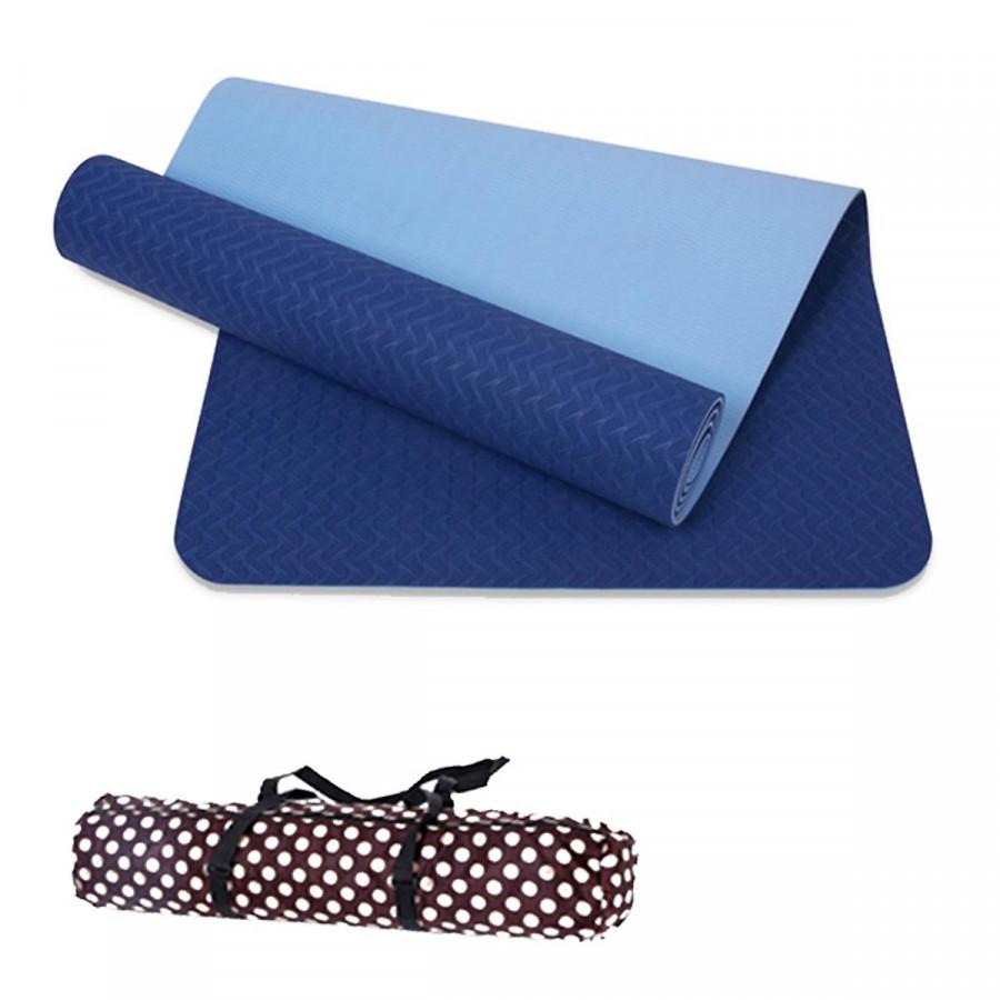 Thảm Tập Yoga Đài Loan TPE 6mm cao cấp + Túi đựng và dây buộc(màu tím,đỏ,cam,xanh lá, xanh dương) - 15979236 , 2279316411529 , 62_21559088 , 349000 , Tham-Tap-Yoga-Dai-Loan-TPE-6mm-cao-cap-Tui-dung-va-day-buocmau-timdocamxanh-la-xanh-duong-62_21559088 , tiki.vn , Thảm Tập Yoga Đài Loan TPE 6mm cao cấp + Túi đựng và dây buộc(màu tím,đỏ,cam,xanh lá,
