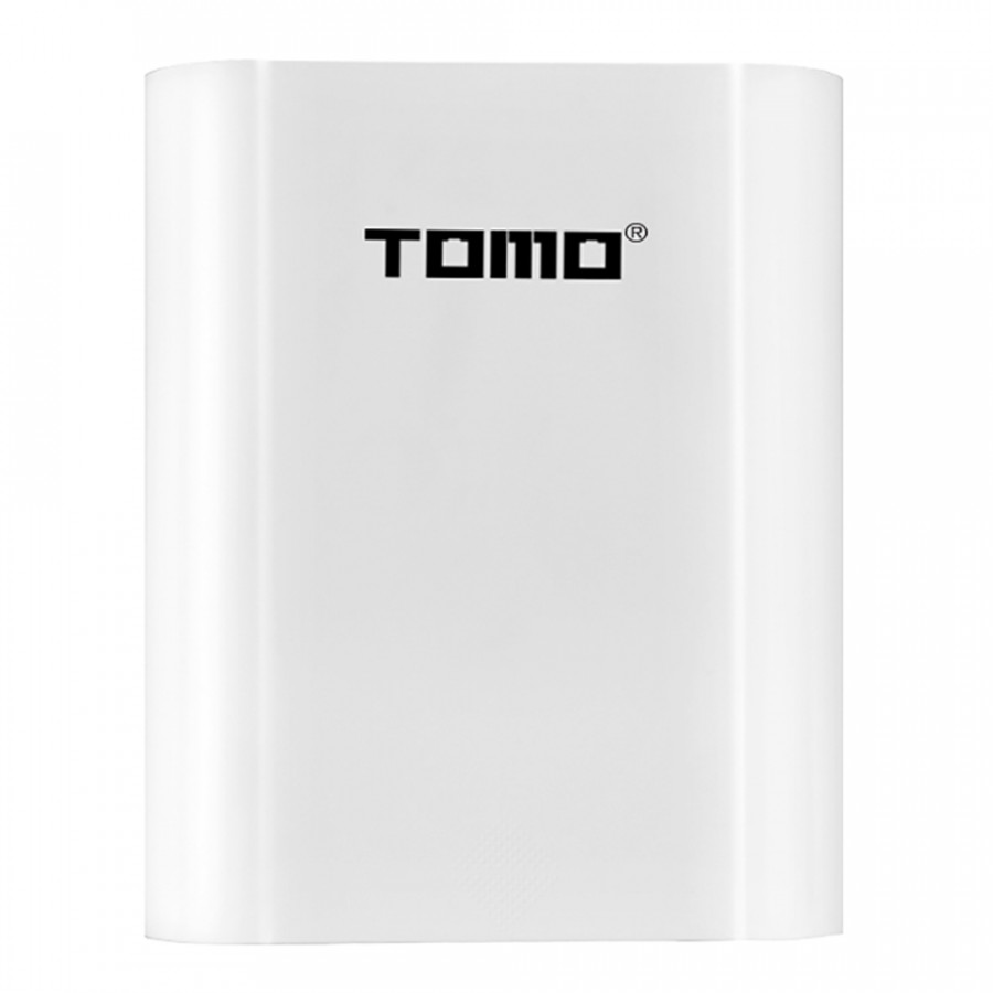 TOMO T4 18650 Li-ion Battery Charger 2 Input Case 5V 2A Output Power Bank External USB Charger with Intelligent LCD