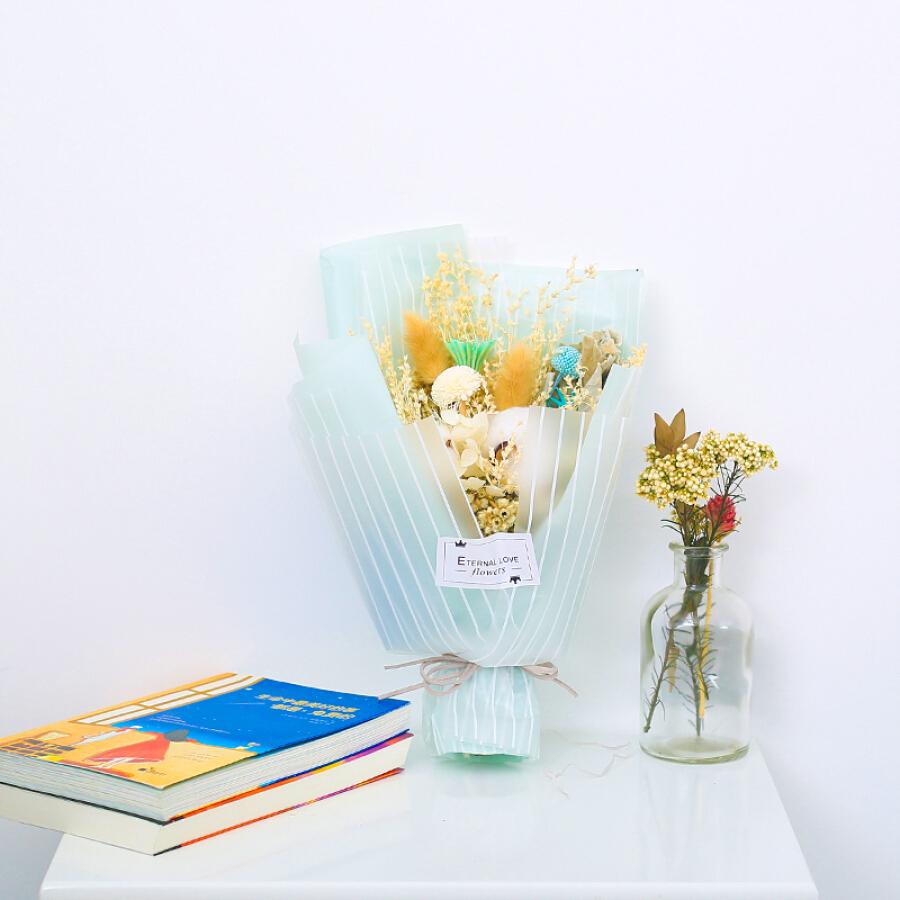 Star eternal flower dried flowers mix bouquet mint honey