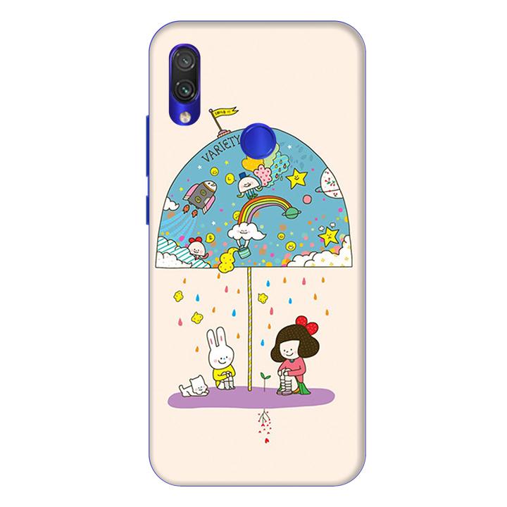 Ốp lưng dành cho điện thoại Xiaomi Redmi Note 7 hình Thỏ Trắng - Hàng chính hãng