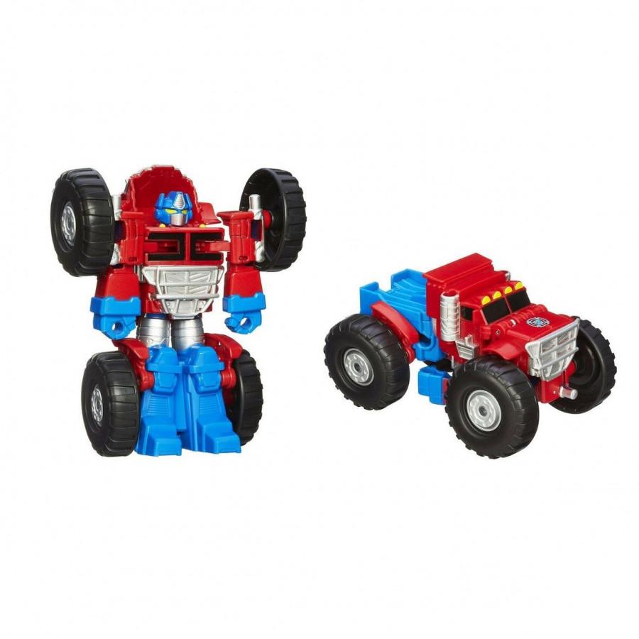 Mô hình xe đua địa hình 1 bước biến đổi thành robot