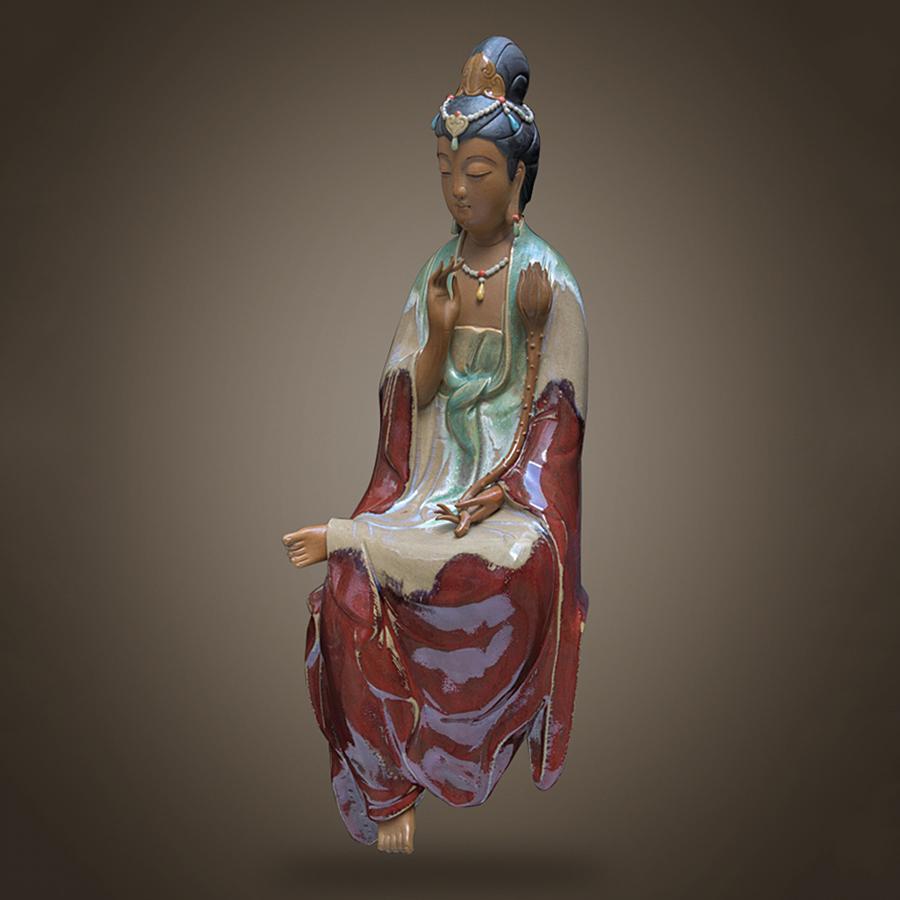 Tượng Quan Âm Tự Tại Hoa Sen Men Xanh (42 cm) - 1534700 , 5931189112855 , 62_8715026 , 5027000 , Tuong-Quan-Am-Tu-Tai-Hoa-Sen-Men-Xanh-42-cm-62_8715026 , tiki.vn , Tượng Quan Âm Tự Tại Hoa Sen Men Xanh (42 cm)