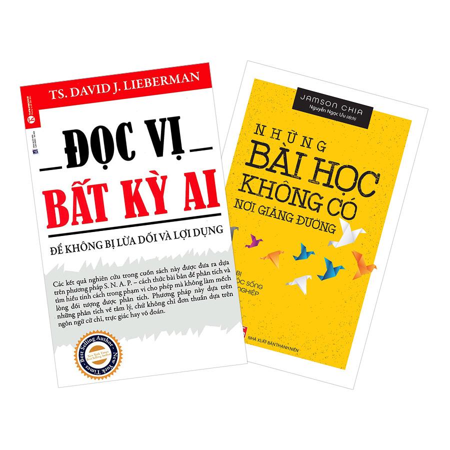 Combo Đọc Vị Bất Kỳ Ai + Chuẩn Bị Cho Cuộc Sống Hậu Tốt Nghiệp (2 cuốn)