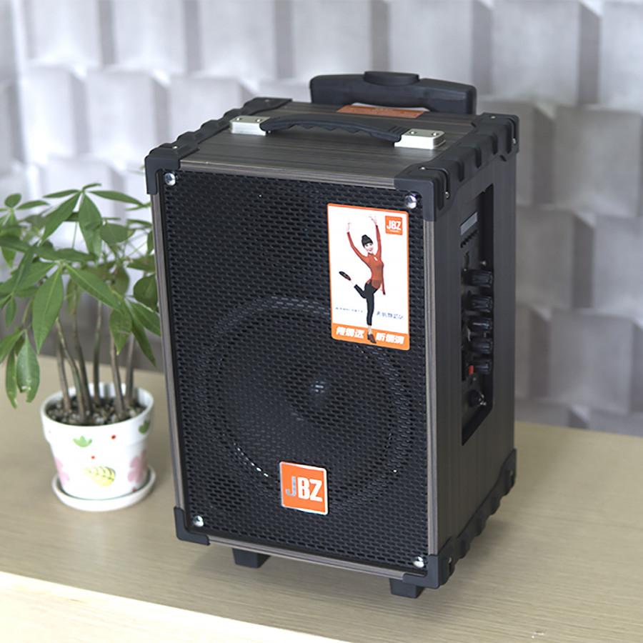 Loa kéo di động NE-108 2.5 tấc 150w thùng gỗ siêu hay 1 mic ko dây-hàng chính hãng