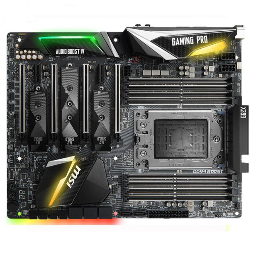 Bo Mạch Chủ MSI X399 GAMING PRO CARBON AC (AMD X399 / Socket TR4)