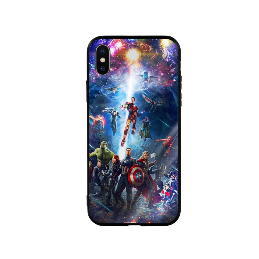 Ốp Lưng Kính Cường Lực cho điện thoại Iphone X / Xs - Marvel 02 - 1562058 , 7353357235476 , 62_14810222 , 250000 , Op-Lung-Kinh-Cuong-Luc-cho-dien-thoai-Iphone-X--Xs-Marvel-02-62_14810222 , tiki.vn , Ốp Lưng Kính Cường Lực cho điện thoại Iphone X / Xs - Marvel 02