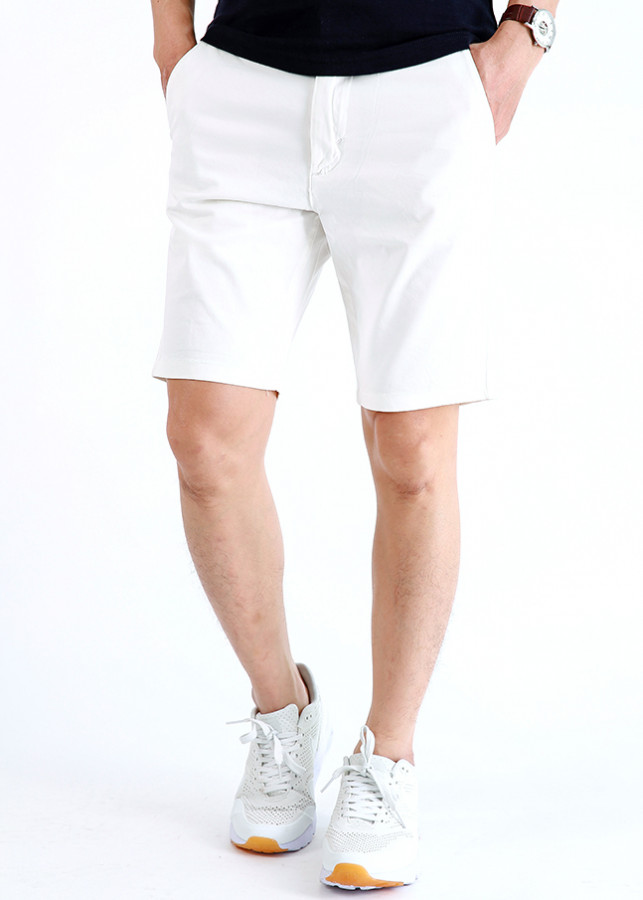 Quần Short Kaki Nam - Trắng - 1354182 , 2638451601798 , 62_8133528 , 169000 , Quan-Short-Kaki-Nam-Trang-62_8133528 , tiki.vn , Quần Short Kaki Nam - Trắng