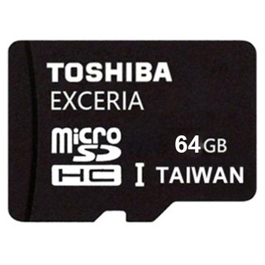 Thẻ nhớ  MicroSD Toshiba 64GB  Class10 - Hàng chính hãng (FPT)