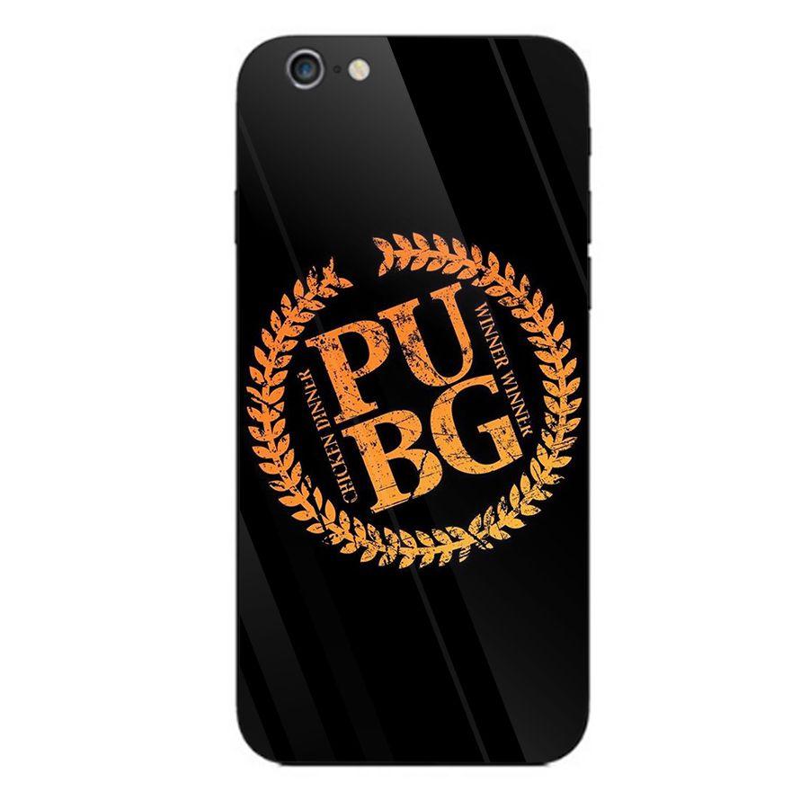 Ốp kính cường lực dành cho điện thoại iPhone 6/6s - PUBG mobile - pubg004