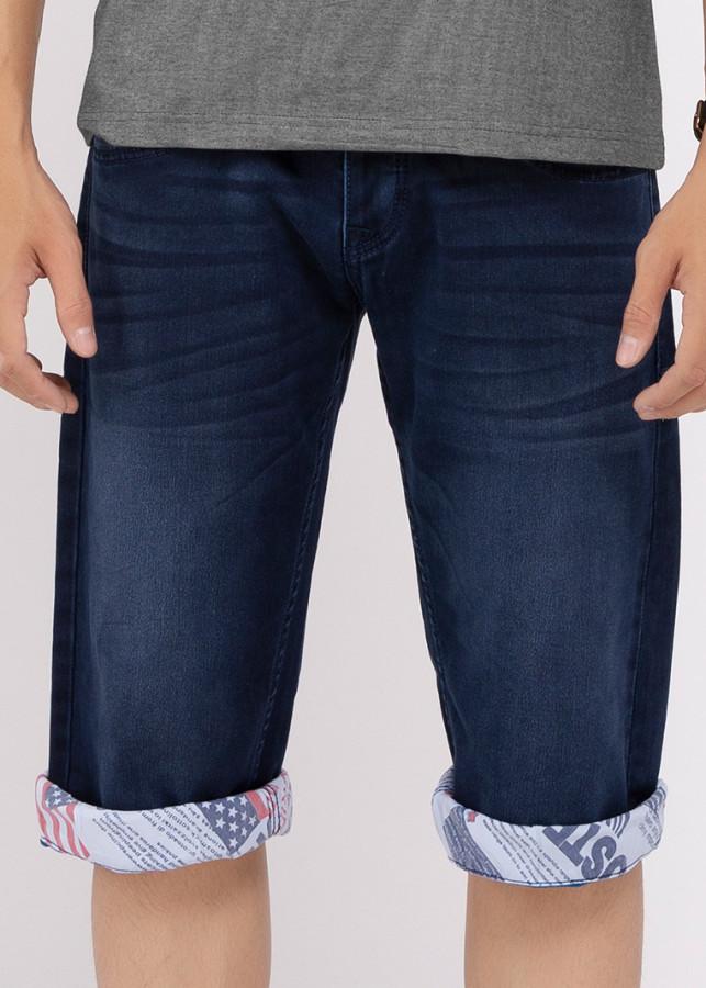 Quần Short Jeans Nam Thời Trang  - A91 JEANS 004 (Xanh)
