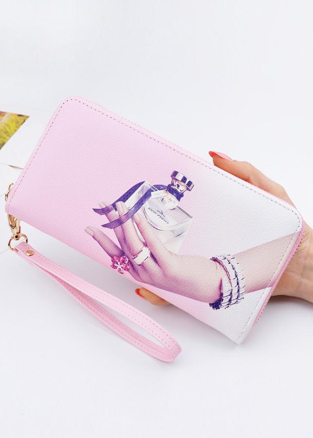 Ví bóp tiền nữ dây kéo phong cách thời trang hiện đại