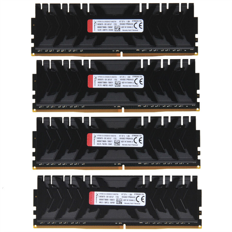 RAMS Kingston Hackers Predator Series DDR4 3600 32G (8Gx4) - 914042 , 7411826254370 , 62_4573485 , 11803000 , RAMS-Kingston-Hackers-Predator-Series-DDR4-3600-32G-8Gx4-62_4573485 , tiki.vn , RAMS Kingston Hackers Predator Series DDR4 3600 32G (8Gx4)