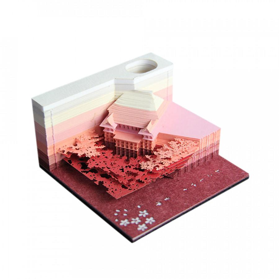 Mô Hình Giấy Note 3D Kyoto (80 x 80 x 30mm) - 9746223 , 6582185578665 , 62_16397703 , 1070000 , Mo-Hinh-Giay-Note-3D-Kyoto-80-x-80-x-30mm-62_16397703 , tiki.vn , Mô Hình Giấy Note 3D Kyoto (80 x 80 x 30mm)