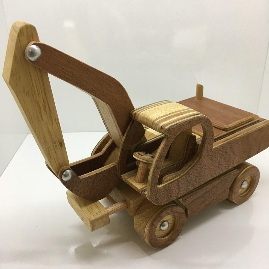 Đồ chơi gỗ Máy Xúc