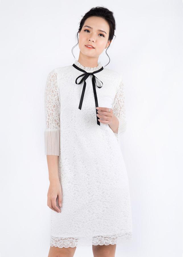 Đầm Suông Nữ Ren Tay Lỡ De Leah