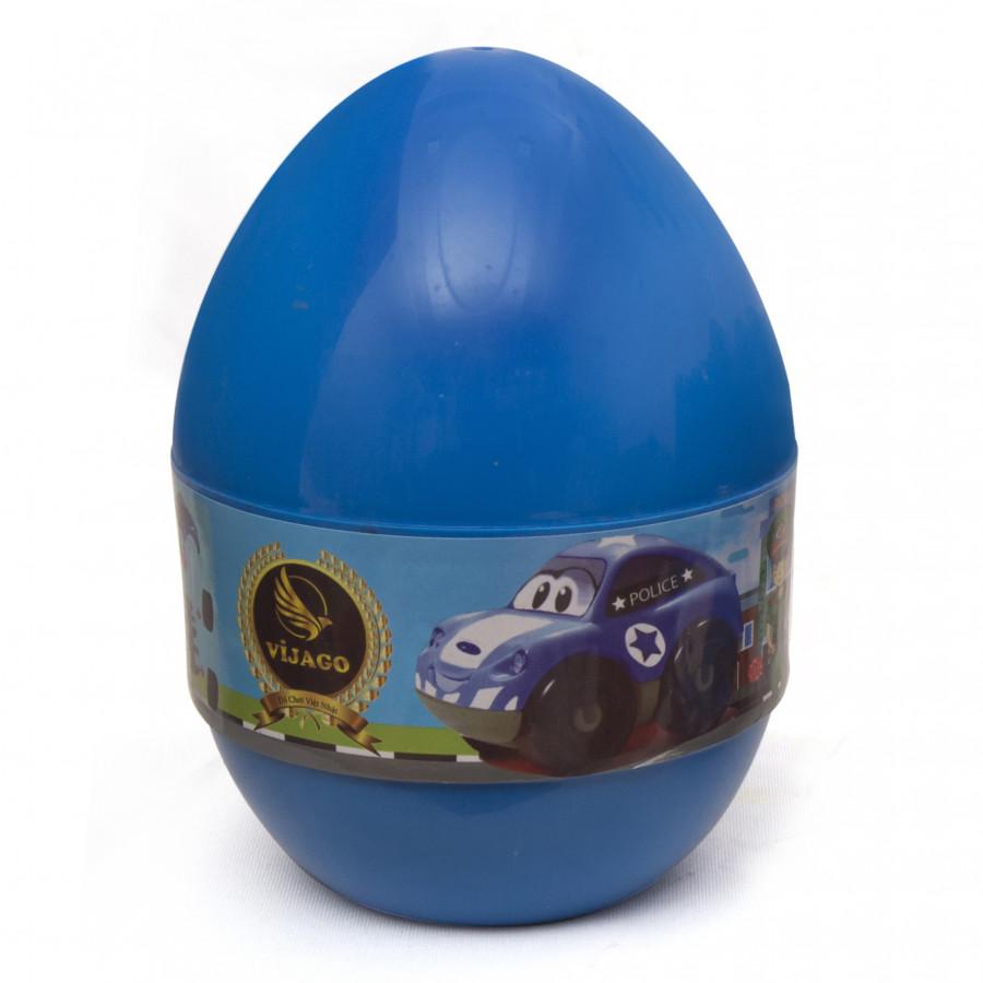 Quả trứng thần kỳ HTB - Xe Ô tô cảnh sát - VJG006