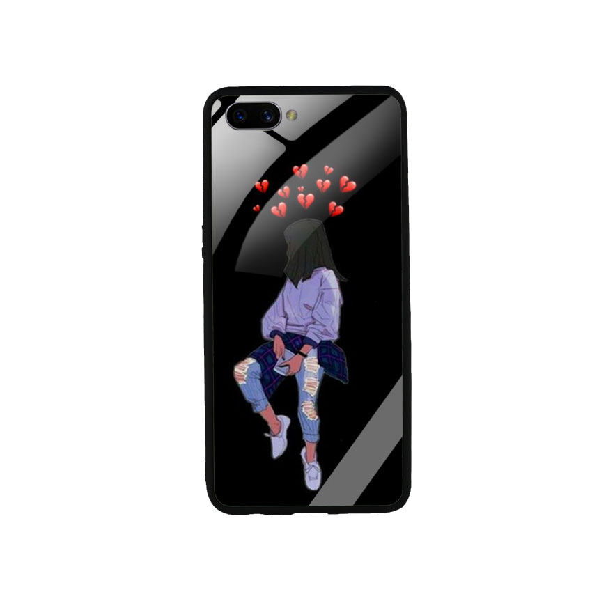 Ốp Lưng Kính Cường Lực cho điện thoại Oppo A3s - Alone 05