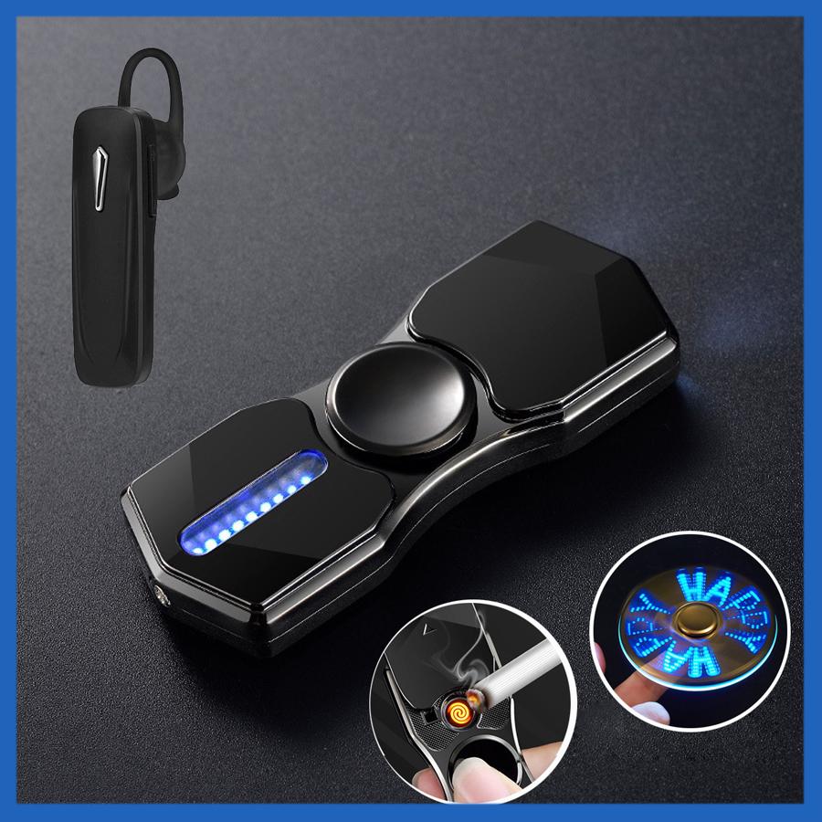 Hột Quẹt Bật Lửa Hồng Ngoại Kiêm Đèn Pin Sạc Điện USB Kiểu Dáng Spinner Tạo 12 Hiệu Ứng Đèn Led + Tặng Tai Nghe... - 1873771 , 6515179331793 , 62_14266945 , 600000 , Hot-Quet-Bat-Lua-Hong-Ngoai-Kiem-Den-Pin-Sac-Dien-USB-Kieu-Dang-Spinner-Tao-12-Hieu-Ung-Den-Led-Tang-Tai-Nghe...-62_14266945 , tiki.vn , Hột Quẹt Bật Lửa Hồng Ngoại Kiêm Đèn Pin Sạc Điện USB Kiểu Dáng