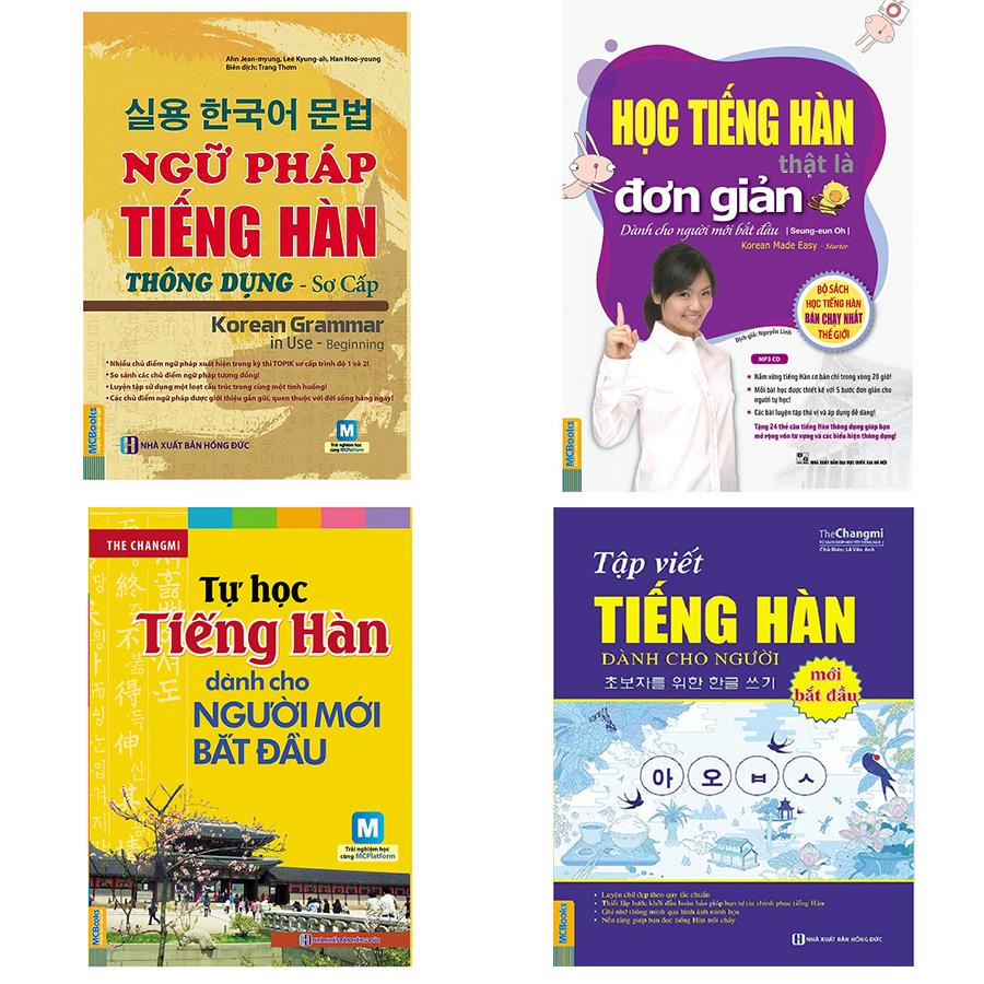 Combo Ngữ pháp tiếng Hàn thông dụng, Học tiếng Hàn thật đơn giản cho người mới bắt đầu, Tự học tiếng Hàn... - 771886 , 9922177861424 , 62_12313434 , 485000 , Combo-Ngu-phap-tieng-Han-thong-dung-Hoc-tieng-Han-that-don-gian-cho-nguoi-moi-bat-dau-Tu-hoc-tieng-Han...-62_12313434 , tiki.vn , Combo Ngữ pháp tiếng Hàn thông dụng, Học tiếng Hàn thật đơn giản cho ngư
