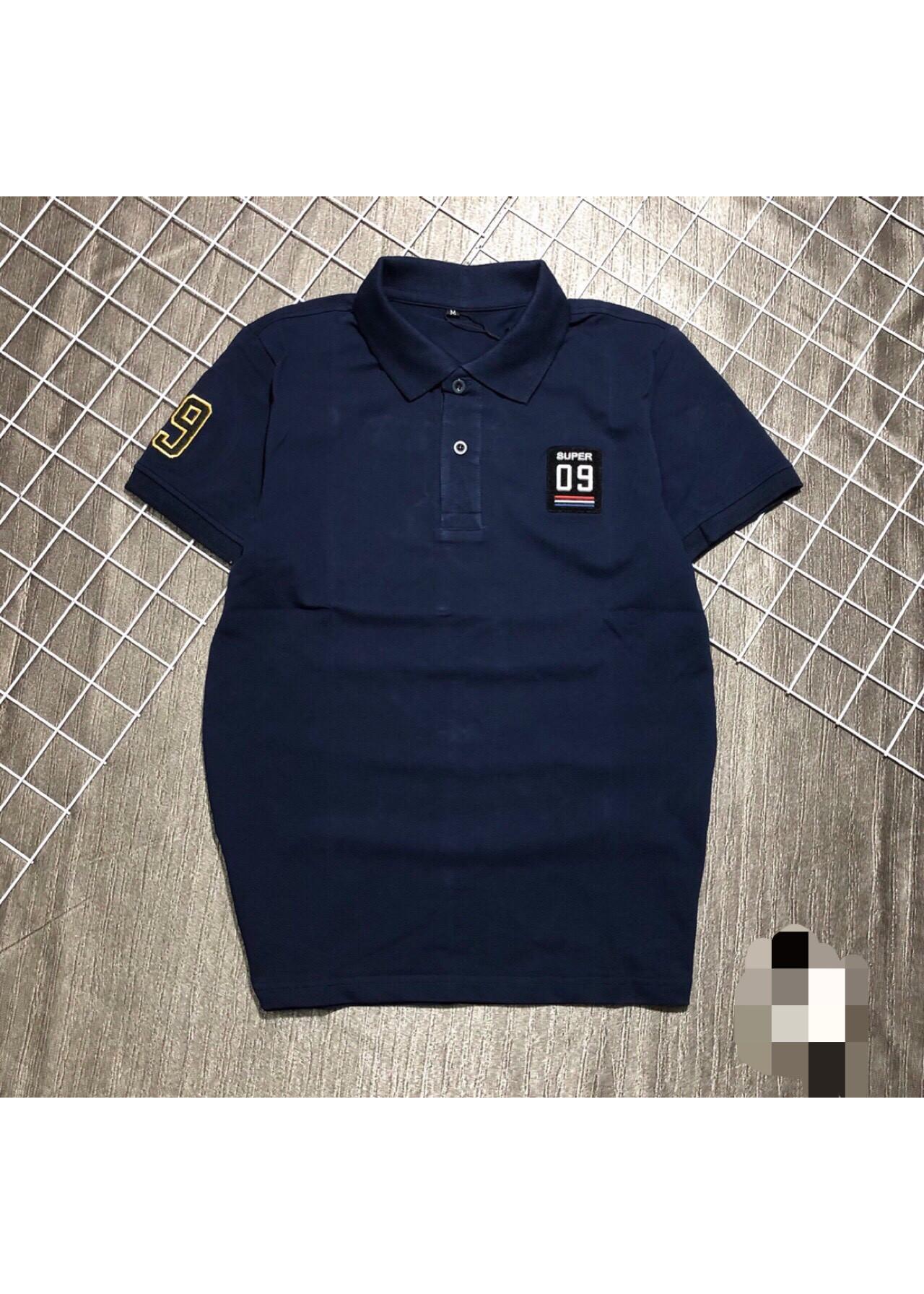 áo thun trơn phối Logo
