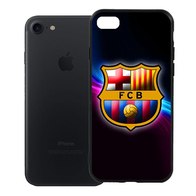Ốp Lưng Viền TPU Cao Cấp Dành Cho iPhone 7 - Clb Barcelona