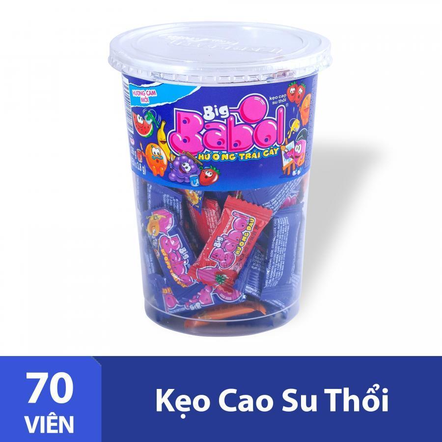 Kẹo Cao Su Thổi Big Babol (Hũ 70 Viên) - 985293 , 8935001713654 , 62_2579899 , 75000 , Keo-Cao-Su-Thoi-Big-Babol-Hu-70-Vien-62_2579899 , tiki.vn , Kẹo Cao Su Thổi Big Babol (Hũ 70 Viên)