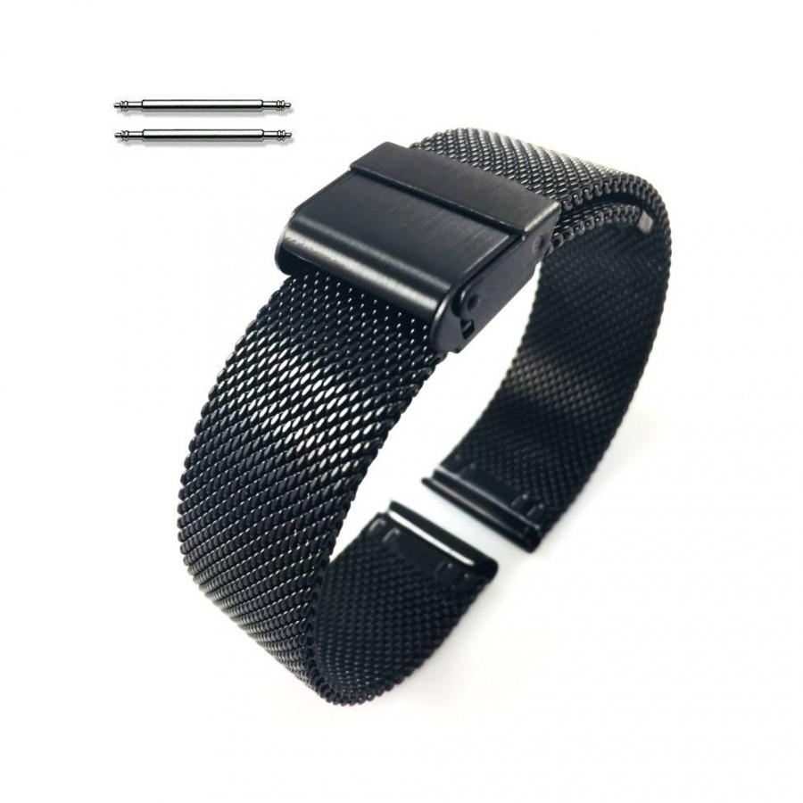 Dây Thép Lưới cho Galaxy Watch 46, Gear S3. Huawei Watch