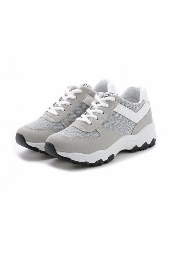 Giày thể thao sneaker phong cách hàn quốc TT058X (Xám)