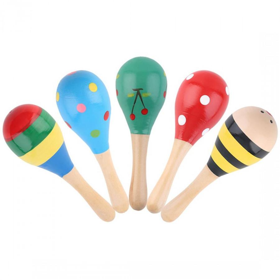 Colored Wooden Hammer Random Delivery 5 / Set