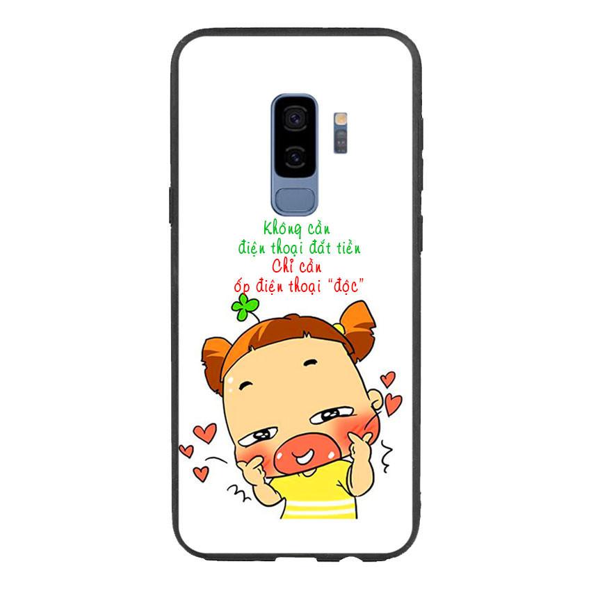 Ốp lưng viền TPU cho điện thoại Samsung Galaxy S9 Plus - Qak