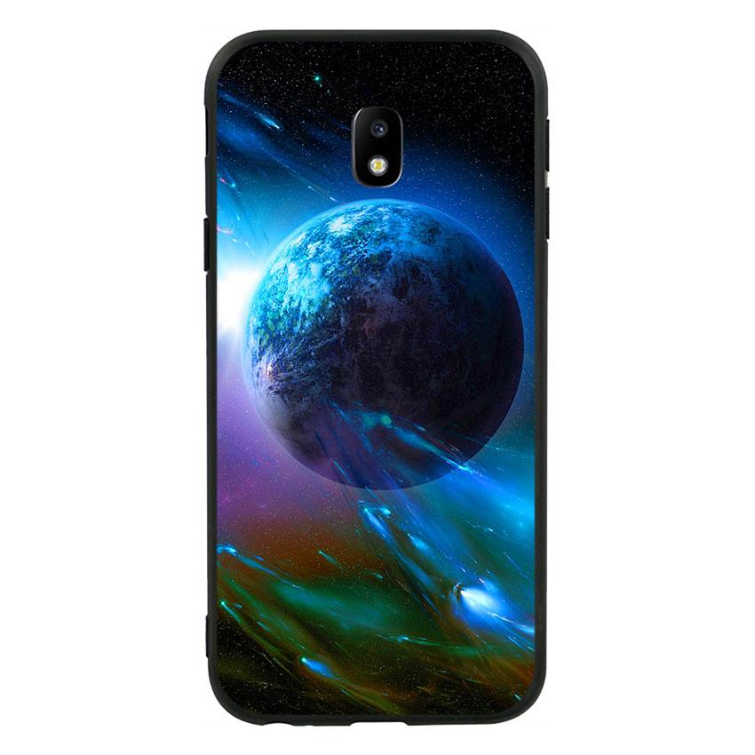 Ốp lưng viền TPU cho Samsung Galaxy J3 Pro 2017 - Universe