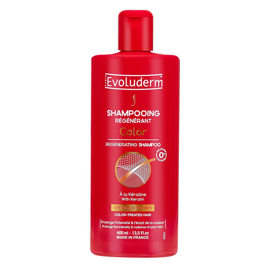 Dầu gội Evoluderm dành cho tóc uốn nhuộm 400ml