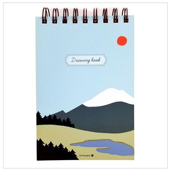 Drawingbook (32J) (Lò Xo Trên) - Morning Glory 81391 - Xanh Lơ - 18651332 , 3324769742214 , 62_23413368 , 68000 , Drawingbook-32J-Lo-Xo-Tren-Morning-Glory-81391-Xanh-Lo-62_23413368 , tiki.vn , Drawingbook (32J) (Lò Xo Trên) - Morning Glory 81391 - Xanh Lơ