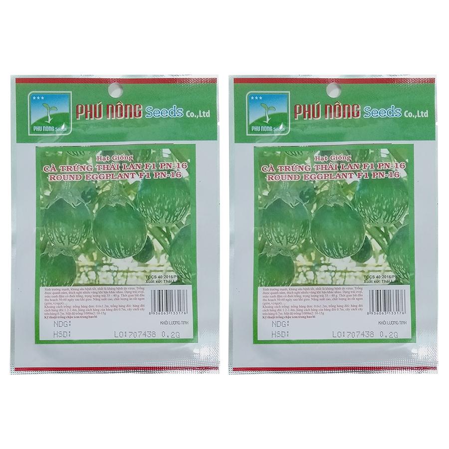 Bộ 2 Túi Hạt Giống Cà Pháo Trứng - Thái Lan (Solanum macrocarpon)(0.2g) - 7456118 , 6618376444034 , 62_15652606 , 42000 , Bo-2-Tui-Hat-Giong-Ca-Phao-Trung-Thai-Lan-Solanum-macrocarpon0.2g-62_15652606 , tiki.vn , Bộ 2 Túi Hạt Giống Cà Pháo Trứng - Thái Lan (Solanum macrocarpon)(0.2g)