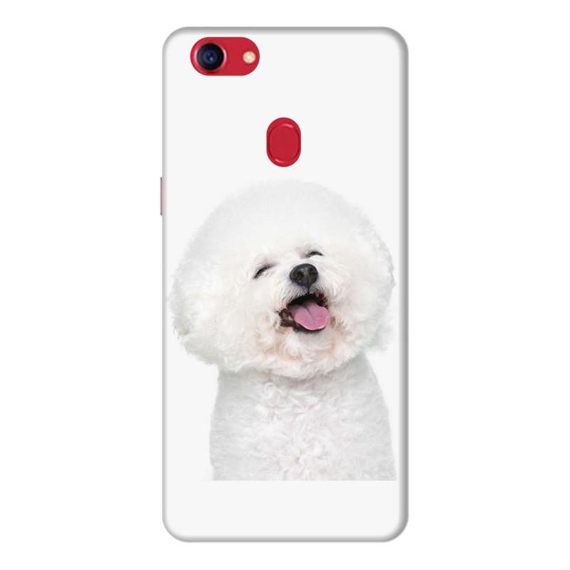 Ốp Lưng Dành Cho Điện Thoai Oppo F7 Puppy Cute - Mẫu 1