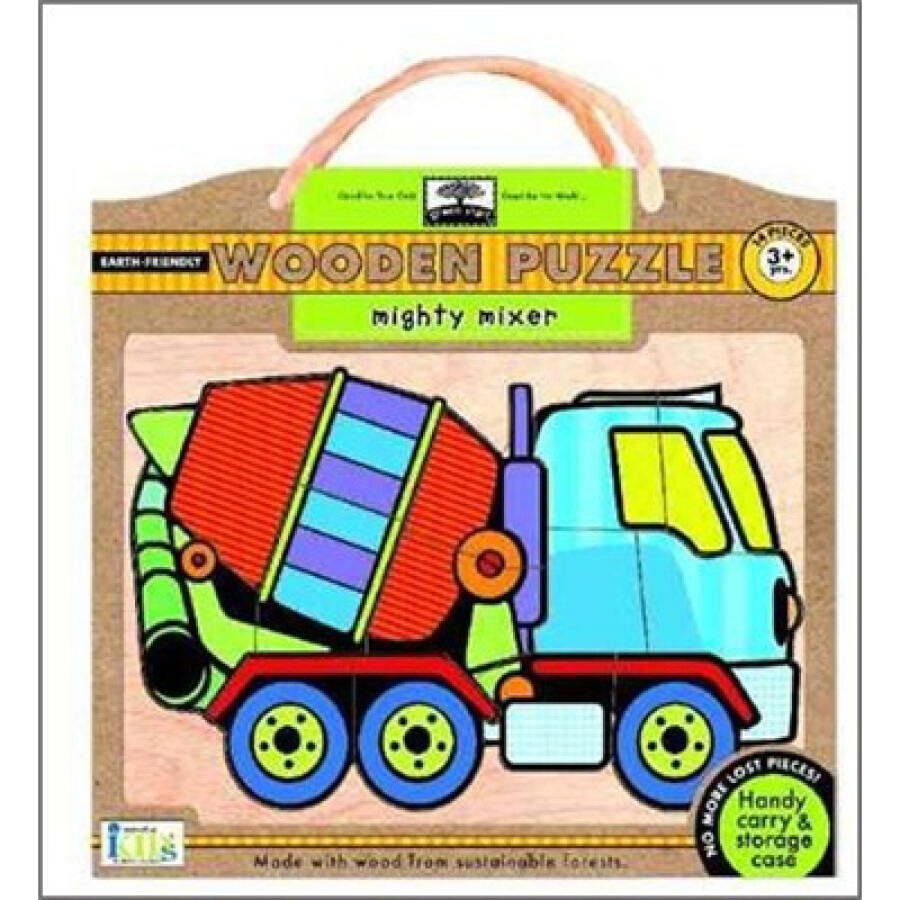 Green Start Wooden Puzzles: Mighty Mixer - Earth Friendly Puzzles with Handy Carry  Storage Case - 1232887 , 5978345586815 , 62_5257141 , 1276000 , Green-Start-Wooden-Puzzles-Mighty-Mixer-Earth-Friendly-Puzzles-with-Handy-Carry-Storage-Case-62_5257141 , tiki.vn , Green Start Wooden Puzzles: Mighty Mixer - Earth Friendly Puzzles with Handy Carry  S